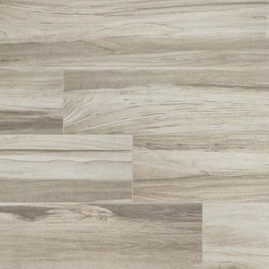 MS International Carolina Timber Series: 6x36 White Wood Look Ceramic Tile NCARTIMWHI6X36-N