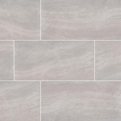 MS International Praia Series: Grey 24X48 Matte Porcelain Tile NPRAGRE2448