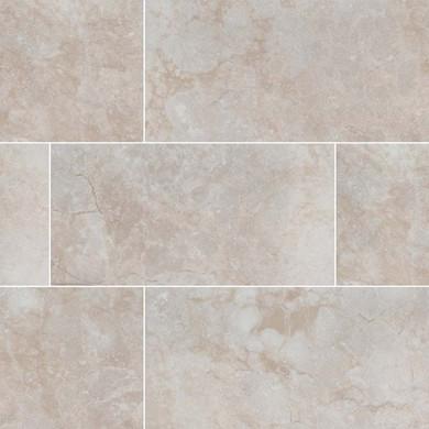 MS International Essentials Series: Ansello Ivory 12X24 Matte Ceramic Tile NANSIVO1224