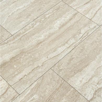 MS International Essentials Series: Sigaro Ivory 12X24 Matte Ceramic Floor Tile NSIGIVO1224