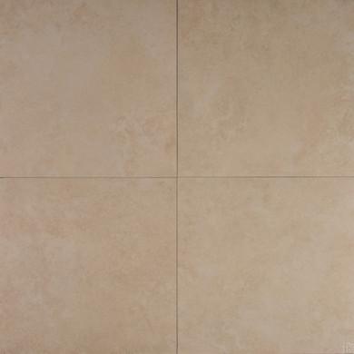 MS International Travertino Series: Beige 12x12 Glazed Matte Porcelain Tile NTRABEI1212