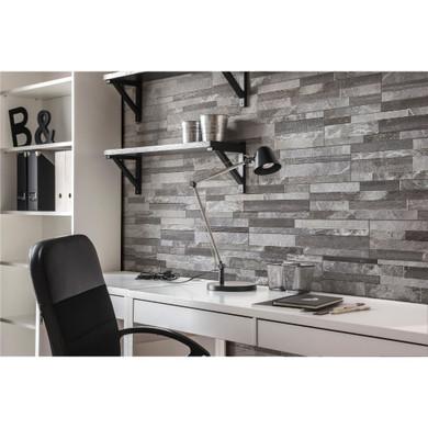 MS International Stacked Stone Series: Palisade Grey 6X24 Matte Porcelain Ledger Panel NPALGRE6X24