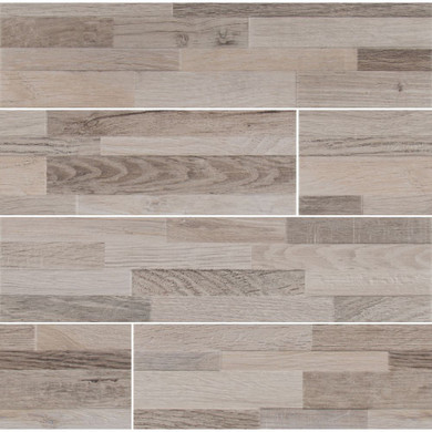 MS International Stacked Stone Series: Rain Forest Natural 6X24 Matte Ledger Panel NRAIFORNAT6X24
