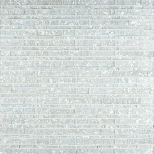 MS International Glass Tile Series: Akoya Interlocking Pattern 8mm SMOT-GLSIL-AKOYA8MM