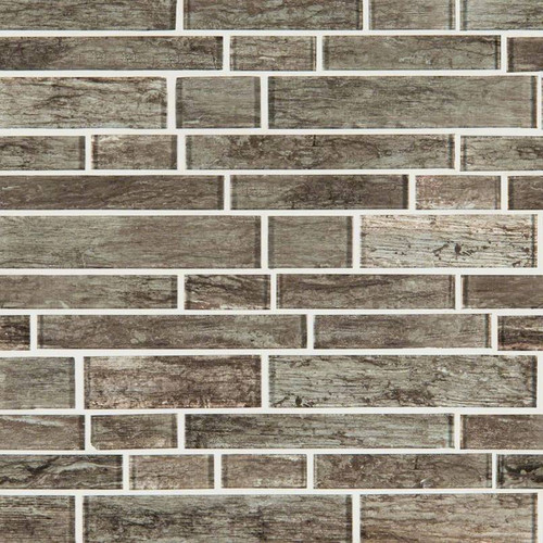 MS International Glass Tile Series: Antico Silversmith Interlocking Pattern Glass Mosaic Tile SMOT-GLSIL-ANTSIL8MM