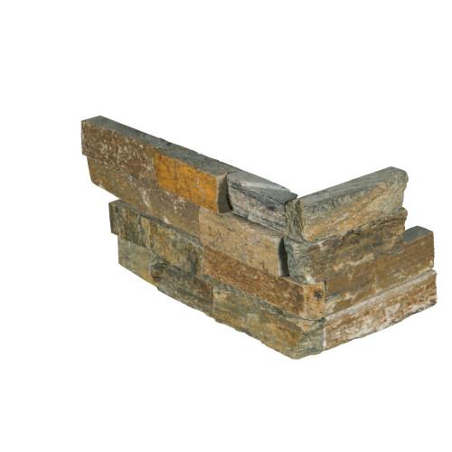 MS International Stacked Stone Series: Canyon Creek 6x12x6 Splitface Corner Ledger Panel LPNLQCANCRE618COR