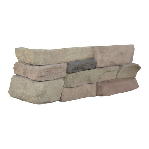 MS International Stacked Stone Series: Peninsula Sand Corner LPNLEPENSAN4COR
