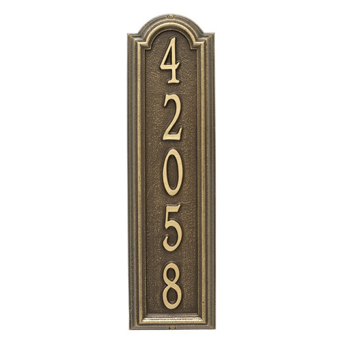 Whitehall Personalized Manchester Vertical Wall Plaque