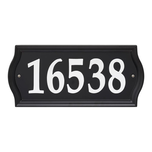 Whitehall Nite Bright Ashland Reflective Address Numbers Sign