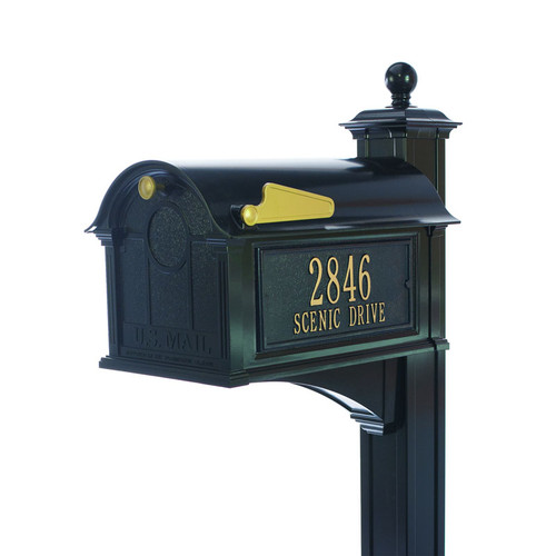 Whitehall Balmoral Mailbox Side Plaques, Post Package