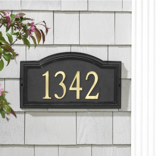DeSign-it Arch Plaque Frame - Standard Wall - Black