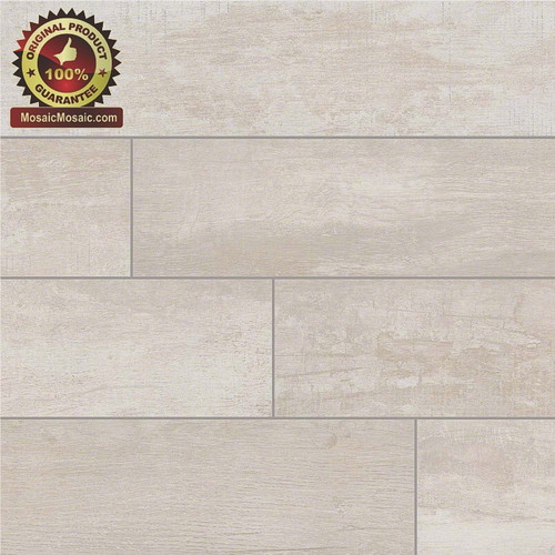 "Capella Birch 6"" x 40"" Wood Look Italian Made Porcelain Tile"