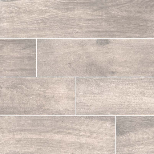 MS International Cottage Series: Smoke 8x48 Matte Wood Look Porcelain Tile NCOTSMO8X48