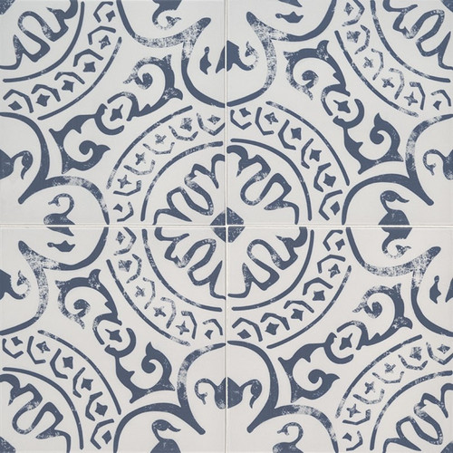 MS International Kenzzi Series: 8x8 Indigo Glazed Porcelain Tile NIND8X8