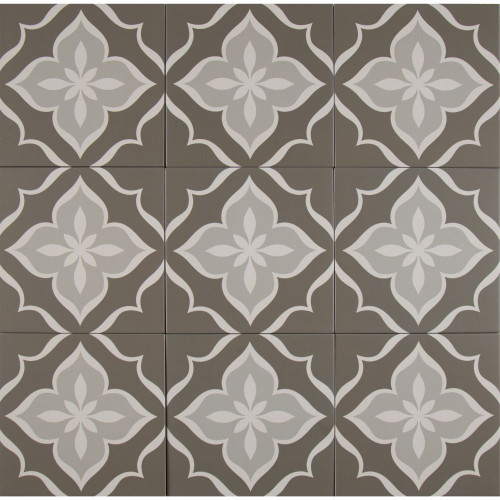 MS International Kenzzi Series: La Fleur 8X8 Matte Porcelain Tile NLAF8X8