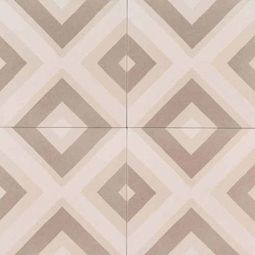 MS International Kenzzi Series: Metrica 8X8 Matte Porcelain Tile NMET8X8