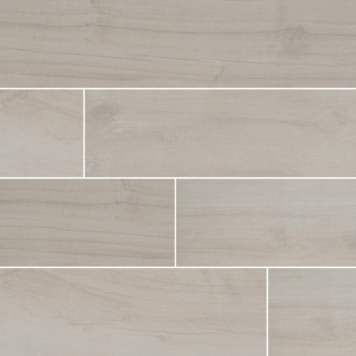 MS International Palmetto Series: Bianco 6X36 Matte Porcelain Tile NPALBIA6X36