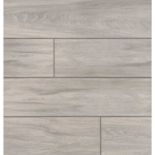 MS International Balboa Series: Ice 6X24 Matte Wood Look Ceramic Tile NBALICE6X24