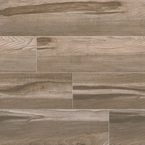 MS International Carolina Timber Series: Beige 6X24 Matte Ceramic Tile NCARTIMBEI6X24