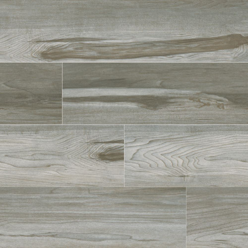 MS International Carolina Timber Series: 6X24 Grey Matte Ceramic Tile NCARTIMGRE6X24