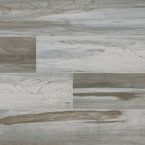 MS International Carolina Timber Series: White 6X36 Matte Ceramic Tile NCARTIMWHI6X36