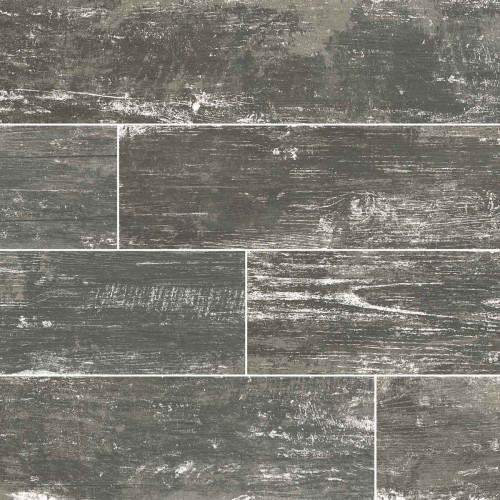 MS International  Vintage Series: Silver 8X36 Matte Porcelain Tile NVINSIL8X36