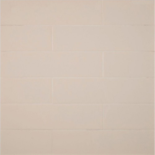 MS International Backsplash Series: Almond Glossy 4X16 Subway Tile NALMGLO4X16