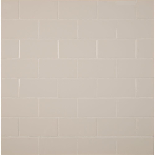 MS International Backsplash Series: Almond 3X6 Glossy Subway Tile NALMGLO3X6