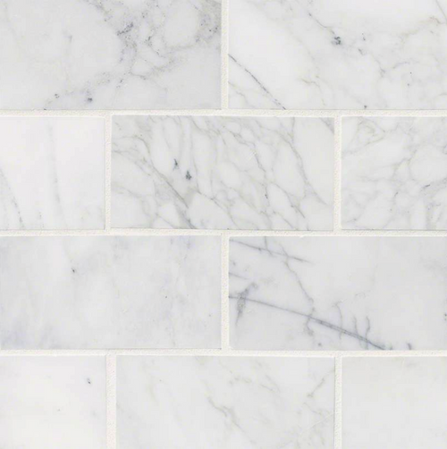 MS International Backsplash Series: 3x6 Calacatta Cressa Subway Tile TCALCRE36H