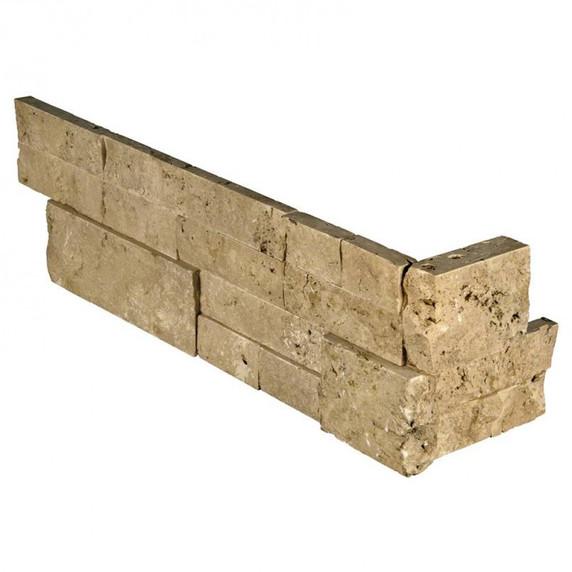 MS International Stacked Stone Series: Cordoba Noche 6x12x6 Split Face Corner Ledger Panel LPNLTCORNOC618COR