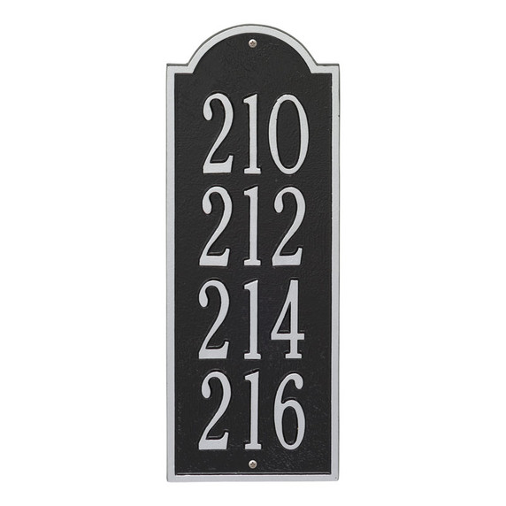 Whitehall New Bedford Medium Wall Plaque – 4 Lines