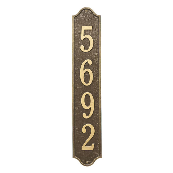 Whitehall Personalized Admiral Vertical Estate Wall Plaque