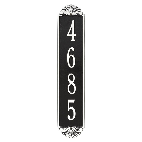 Whitehall Personalized Shell Vertical Wall Plaque
