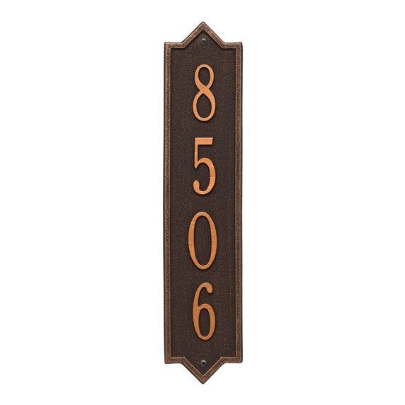 Whitehall Personalized Norfolk Vertical Wall Plaque