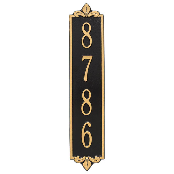 Whitehall Personalized Lyon Vertical Wall Plaque
