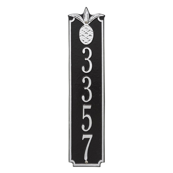Whitehall Personalized Pineapple Vertical Wall Plaque