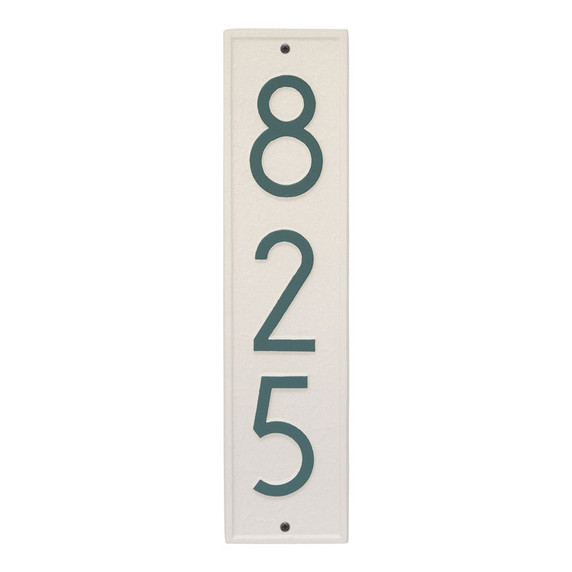 Whitehall Delaware Modern Personalized Vertical Wall Plaque