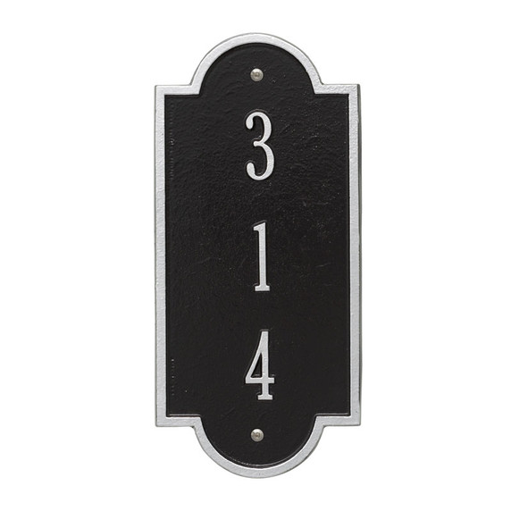 Whitehall Personalized Richmond Vertical Petite Wall Plaque