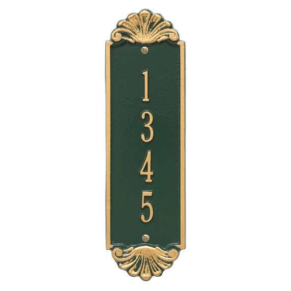 Whitehall Personalized Shell Vertical 12″ Wall Plaque