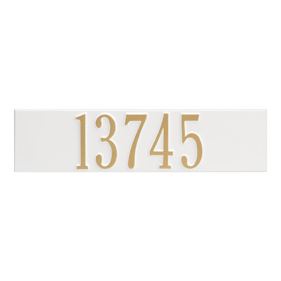 Whitehall Colonial Wall Mailbox Plaque