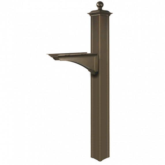 Balmoral Deluxe Post & Bracket with Finial