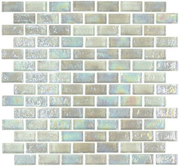 """Glass-Mosaic-backsplash-tile-kitchen-Wall-Bathroom. Tile applications   Suitable for interior and exterior use, walls, countertops, backsplashes and pool borders.     Dimensions    Tile size: Approx. 1-5/8"""" x 3/4""""   Thickness: Approx. 1/4""""  Grout joint: Approx. 1/8""""  Sq. ft. per sheet: Approx. 1.0 Tile per sheet: 98 Mounting: Mesh-backed"""