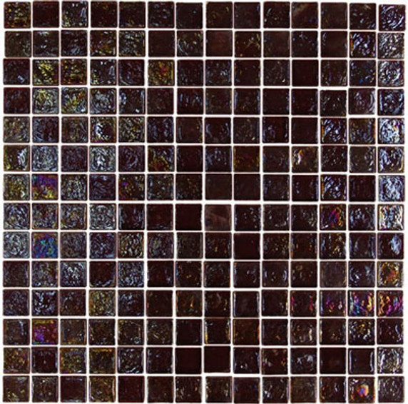 """Glass-Mosaic-backsplash-tile-kitchen-Wall-Bathroom.  Tile applications Suitable for interior and exterior use, walls, countertops, backsplashes and pool borders.  Dimensions Tile size: Approx. 3/4"""" x 3/4""""   Thickness: Approx. 1/4""""  Grout joint: Approx. 1/8""""  Sq. ft. per sheet: Approx. 1.0 Tile per sheet: 196 Mounting: Mesh-backed"""