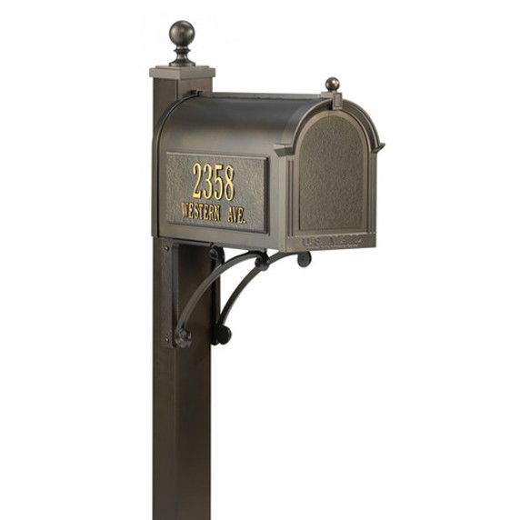 Streetside Superior Mailbox Package