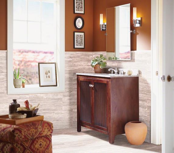 "MS International Pietra: Venata White 12"" x 24"" Porcelain Tile NPIEVENWHI1224P"