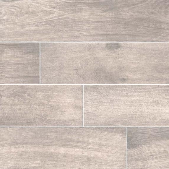 MS International Cottage Series: Smoke 8x48 Matte Wood Look Porcelain Tile NCOTSMO8X48
