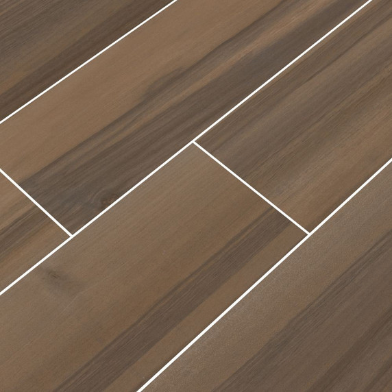 MS International Acazia Series: Koa 6x36 Matte Ceramic Tile NACAKOA6X36