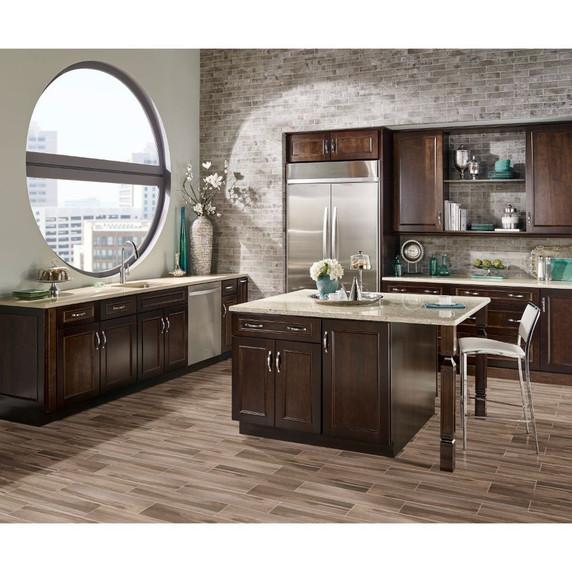 MS International Carolina Timber Series: Beige 6X24 Matte Ceramic Tile NCARTIMBEI6X24