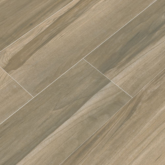 MS International Carolina Timber Series: Saddle 6X24 Matte Ceramic Tile NCARTIMSAD6X24