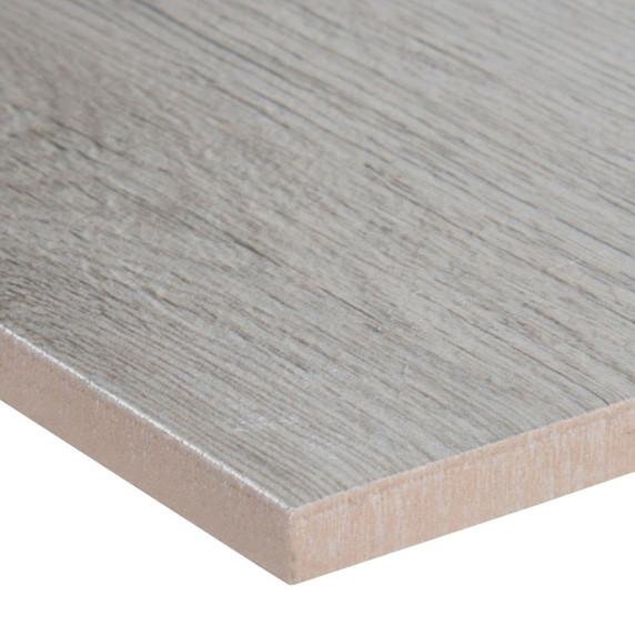 MS International Celeste Series: Grayseas 8X40 Black Matte Wood Look Ceramic Tile NCELGRA8X40